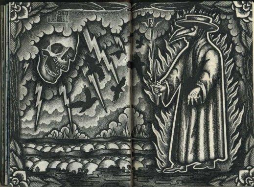 the black death plague doctor by Haemoglob - Copy