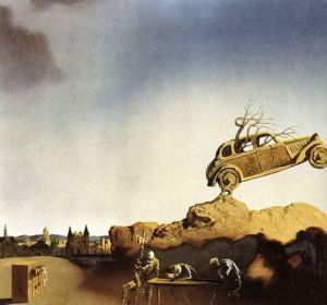 Dali - Apparition of the Town of Delft
