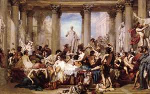 Romans during the Decadence (1847) Thomas Couture