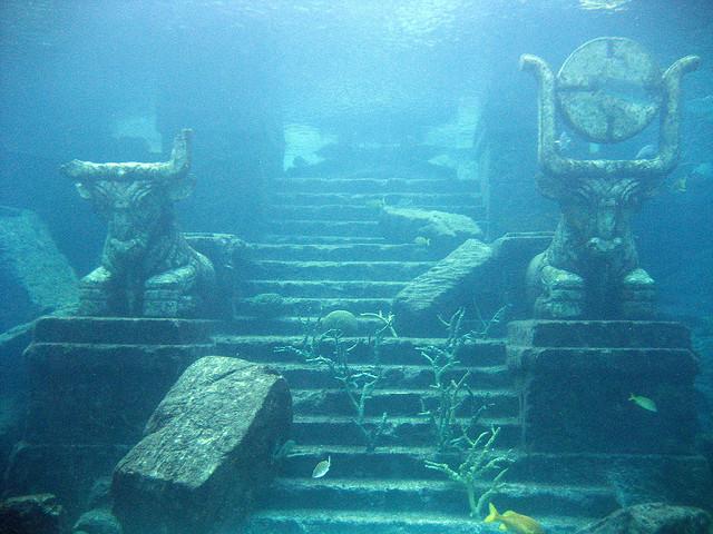 underwate ruins atlantis - gopixpic
