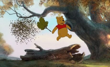pooh running