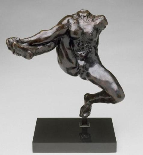 Iris, Messenger of the Gods, Auguste Rodin, 1890