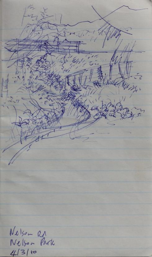 10. Nelson Park stream 4.3.10