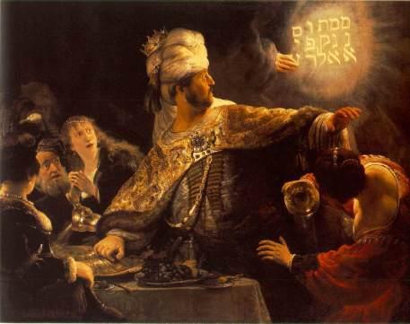 Rembrandt Belshazzar's Feast